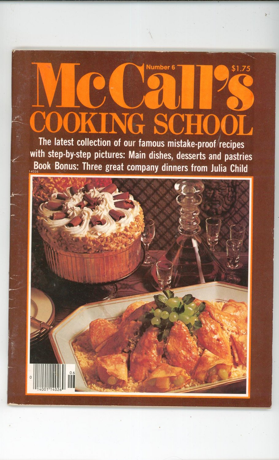 Mccalls cooking school number 6 magazine vintage with for Julia child cooking school