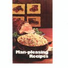 Vintage Man Pleasing Recipes Cookbook / Pamphlet Rice Council 1971