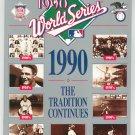 Souvenir 1990 World Series Official Program Boston Red Sox Pittsburgh Pirates