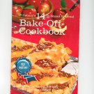 Vintage Pillsbury's 14th Grand National Cookbook