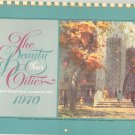 Vintage Equitable Insurance Advertising Calender 1970 The Beauty Of Our Cities Ralph Avery