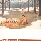 Vintage 1977 Wall Calendar By Canadian Indian Marketing Services Ernest Smith