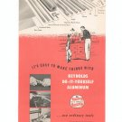 Vintage Reynolds Do It Yourself Aluminum Brochure 1954