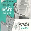 Vintage Air Loc Take Out Windows Brochure 1956