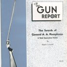 The Gun Report June 1978 The Swords Of General A. A. Humphreys By Ralph Arnold