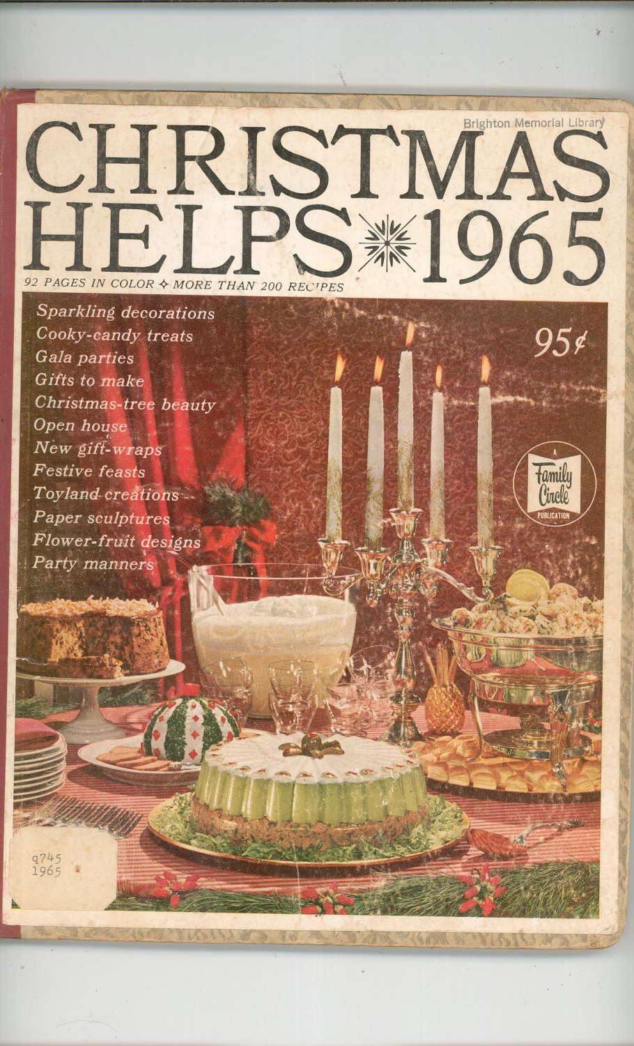vintage christmas helps 1965 by family circle