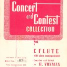 Vintage Concert And Contest Collection For C Flute Rubank Inc.