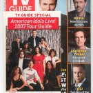 TV Guide Back Issue August 27 - September 2 2007 With American Idols Tour Guide