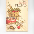 Vintage All Time Any Time Recipes Cookbook Quaker Oats 1973