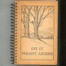 Vintage Out Of Vermont Kitchens Cookbook 1939 1947 Regional Church With Advertisements