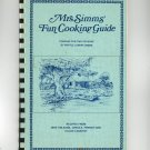 Mrs. Simms Fun Cooking Guide Cookbook New Orleans Creole French Cajun