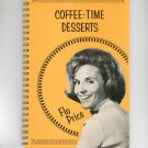 Coffee Time Desserts Cookbook By Flo Price 1969
