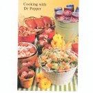 Cooking With Dr Pepper Cookbook / Pamphlet Vintage 1977