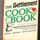 The Settlement Cookbook Vintage 1965 Treasured Recipes Of Six Decades