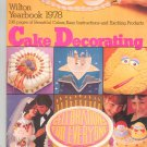 Wilton Yearbook 1978 Cake Decorating Ideas Instructions Products
