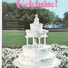 Wilton Celebrate March April 1974 Magazine For Cake & Food Decorators Vintage
