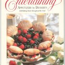 Wilton Entertaining Appetizers To Desserts Cookbook 0912696834
