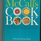 McCalls Cook Book Cookbook Vintage 1963 First Printing Blue McCall's