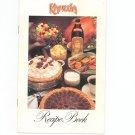 Kahlua Recipe Book Cookbook