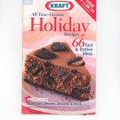 Kraft All Time Favorite Holiday Recipes Cookbook 2002