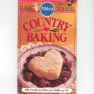 Pillsbury Country Baking Cookbook Classic #141 1992