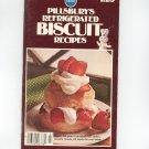 Pillsbury's Refrigerated Biscuit Recipes Cookbook Vintage 1976