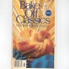 Pillsbury Bake Off Classics Cookbook Vintage 1979