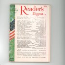 Reader's Digest July 1967 Vintage Back Issue