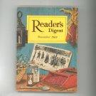 Reader's Digest November 1963 Vintage Back Issue