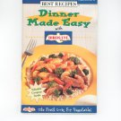 Dinner Made Easy With Birds Eye Cookbook Favorite Brand Names 1997