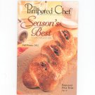 The Pampered Chef Season's Best Recipe Collection Fall Winter 2002