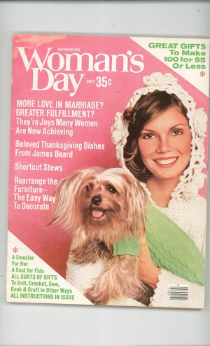 Woman's Day Magazine November 1975 Back Issue Vintage