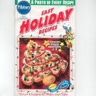 Pillsbury Easy Holiday Recipes Cookbook Classic #202 1997