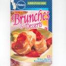 Pillsbury Brunches & Desserts Cooking Cookbook Classic #242 2001