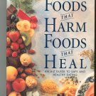 Foods That Harm Foods That Heal Healthy Eating Guide Readers Digest 0895779129