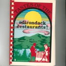 Tastes Of The Adirondack Restaurants Cookbook By Sue Schildge First Edition Signed Copy