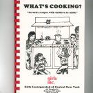 What's Cooking ? Cookbook Regional Girls Inc. Central New York