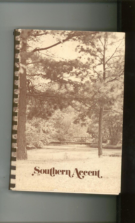 Southern Accent Cookbook Junior League Arkansas 0960754806 Vintage 1978