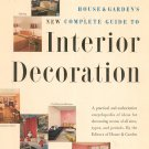 Vintage House & Garden's New Complete Guide To Interior Decoration 1953 Hard Cover & Dust Jacket