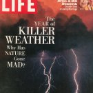 Life Magazine Back Issue September 1993 Year Of Killer Weather