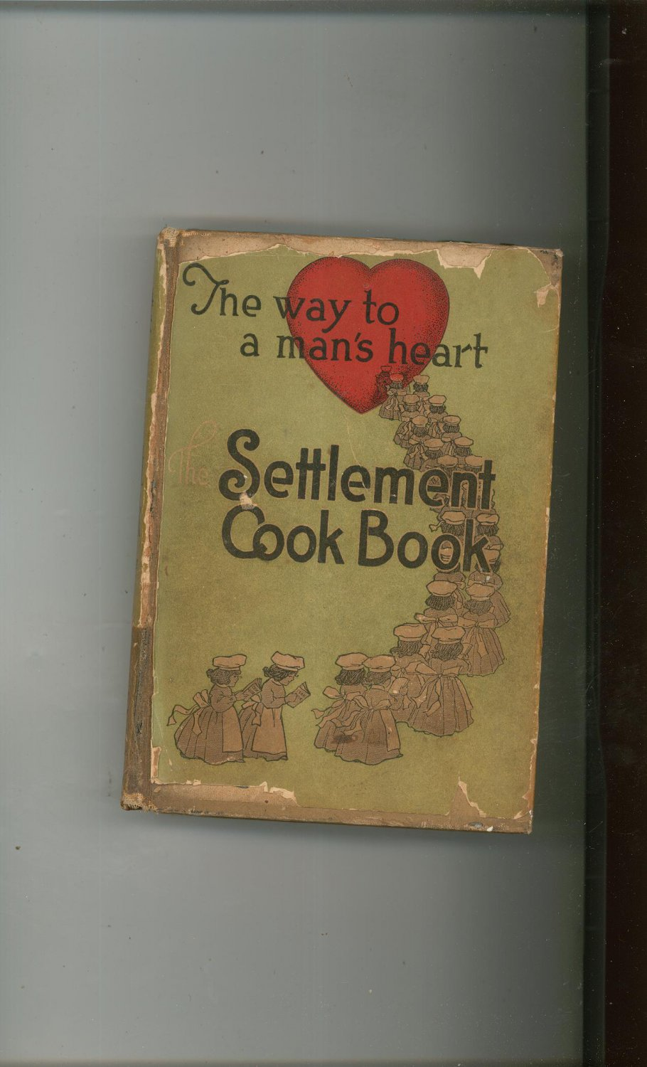 The Way To A Man's Heart The Settlement Cookbook Vintage 1930 18th Edition