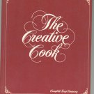 The Creative Cook Cookbook by Campbell Soup Company Vintage Hard Cover