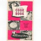 Dairy Food Dishes Cookbook Regional Netherland Dairy New York Vintage