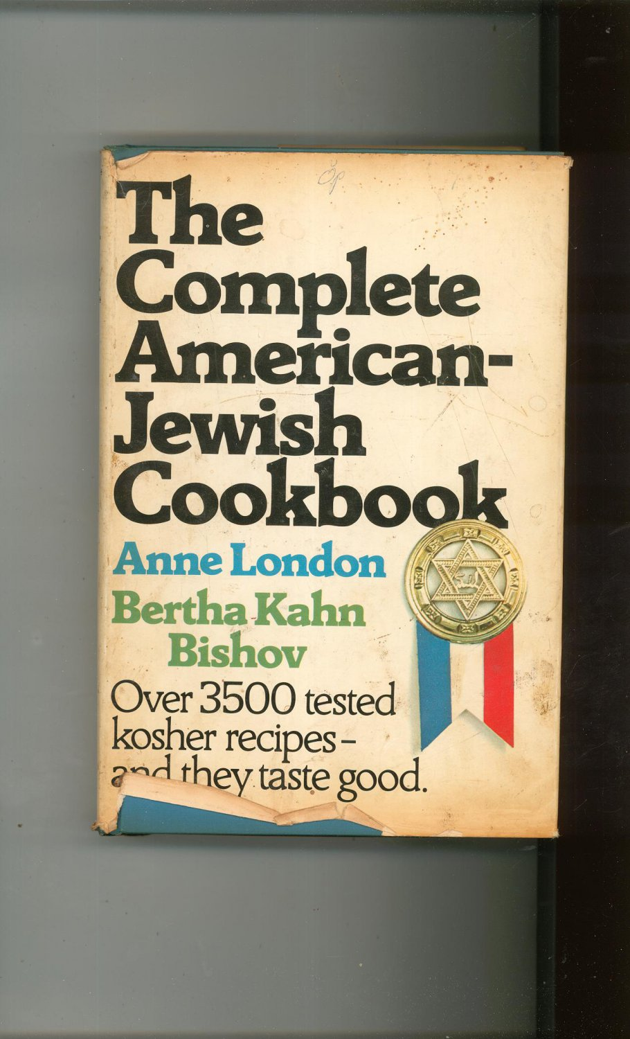 The Complete American Jewish Cookbook By London & Bishov Revised Hard Cover 1971