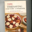 Farm Journal's Timesaving Country Cookbook Vintage Hard Cover First Edition