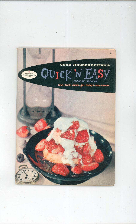 Good Housekeeping's Quick N Easy Cookbook Vintage 1958 #4