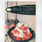 Good Housekeeping's Quick N Easy Cookbook Vintage 1958 #4
