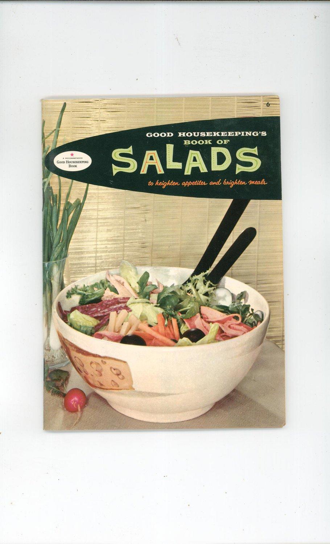 Good Housekeeping's Book Of Salads Cookbook Vintage 1958 #6