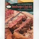 Good Housekeeping's Hamburger & Hot Dog Book Cookbook Vintage 1958 #8