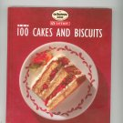 Top 100 Cakes And Biscuits Cookbook Hard Cover Safeway Good Housekeeping 0091821061
